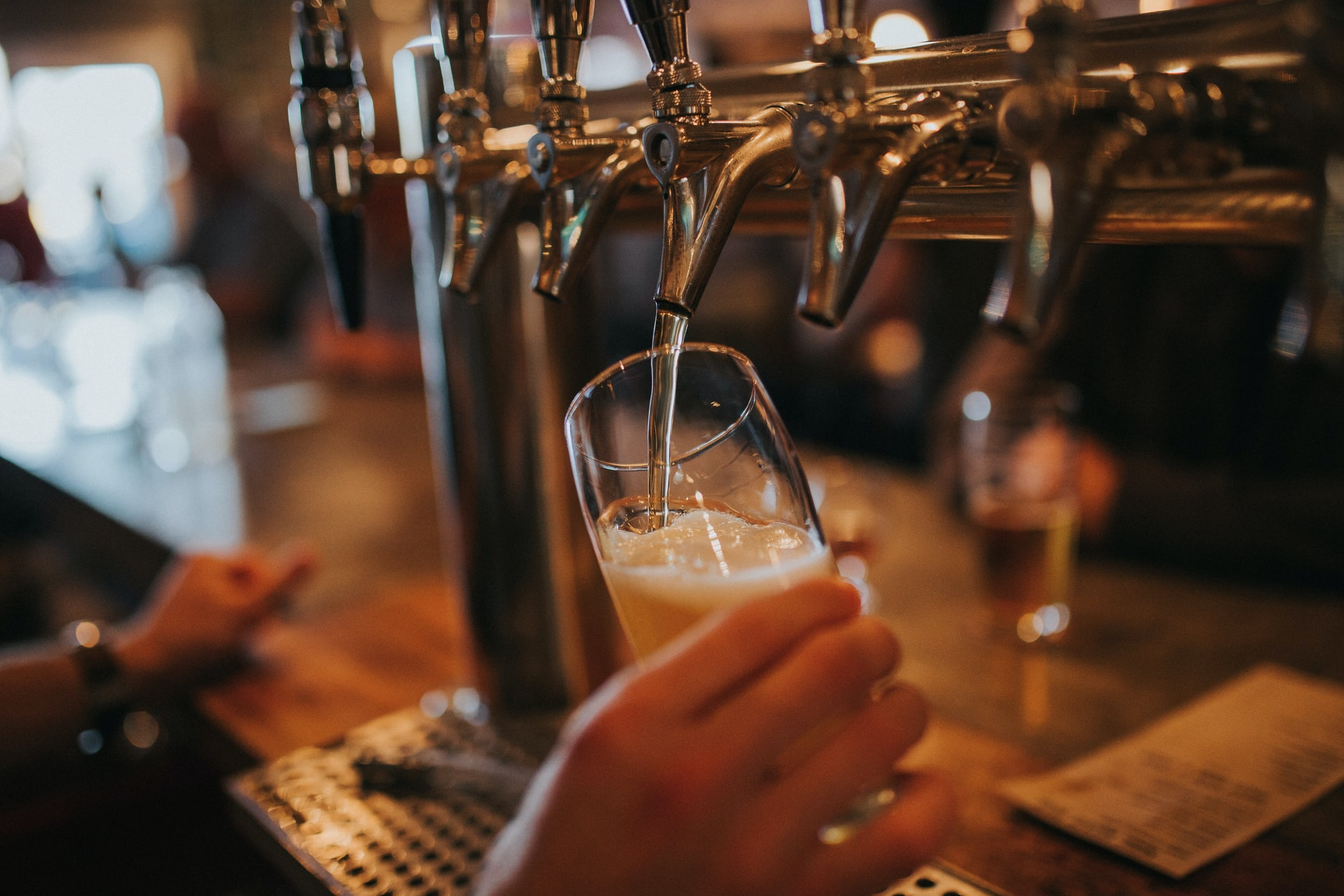 Sip a Belgian Ale at Barrel of Monks Brewery